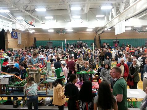 Physics fair: A fun night for all