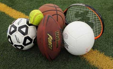 Equipment of different sports